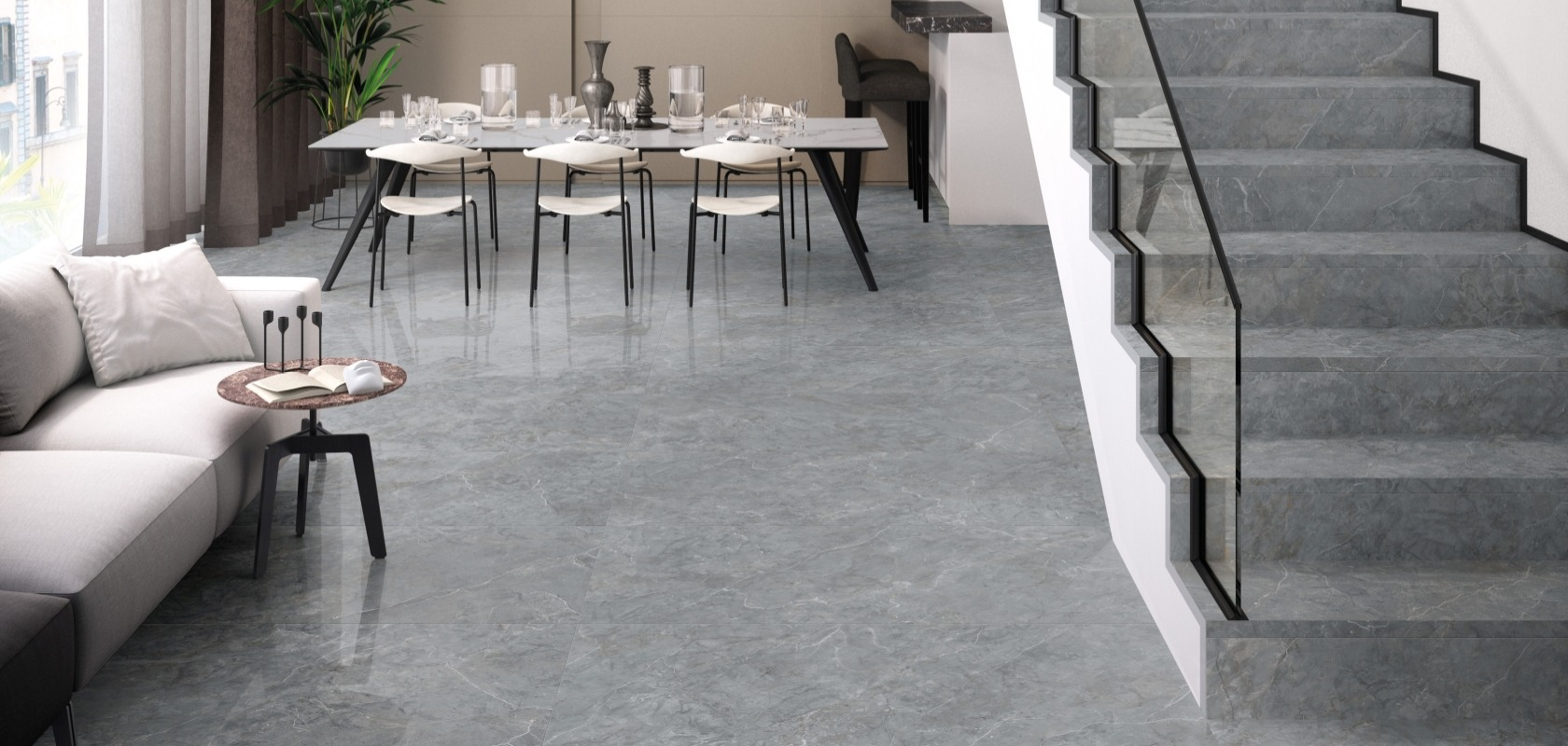 Supergres Purity Of Marble Imperial Grey
